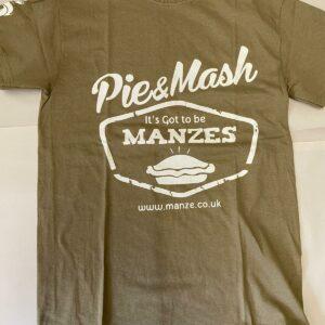 Manze Khaki T-Shirt